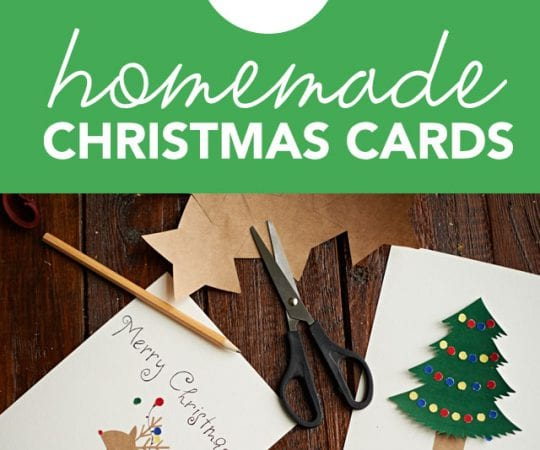 This is a great list for homemade Christmas card ideas! Don't buy another Christmas card before checking out these super easy DIY Christmas cards.