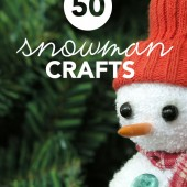 This is an awesome resource for fun snowman crafts. Everything from marshmallow snowmen on a stick to homemade play doh snowmen in a jar.