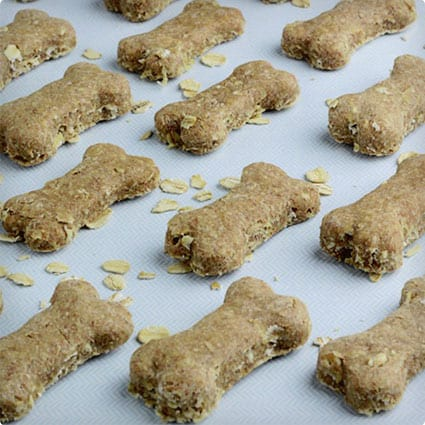 4 Ingredient Homemade Dog Treats