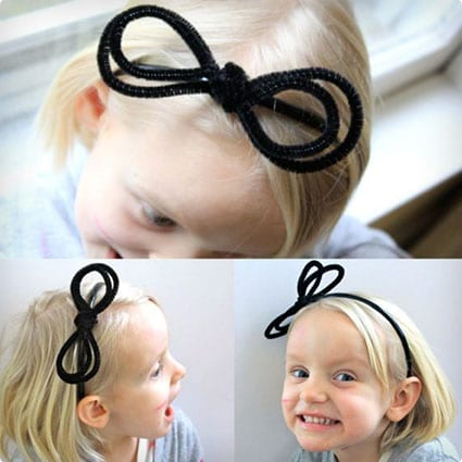 Anthro Inspired Pipe Cleaner Headband