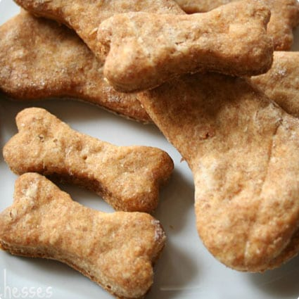 Bacon Flavored Dog Biscuits