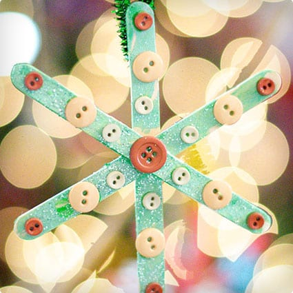 Basic Snowflake Ornaments