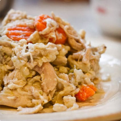 Chicken Doggie Food From The Crock Pot