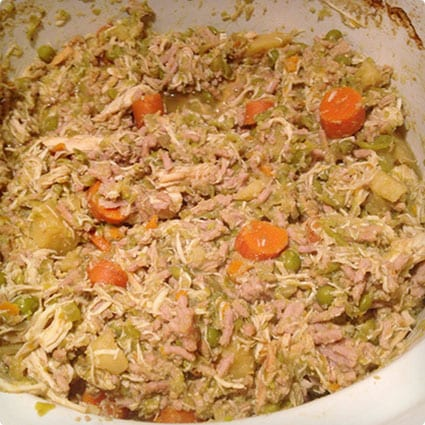 Chicken and Turkey Homemade Dog Food