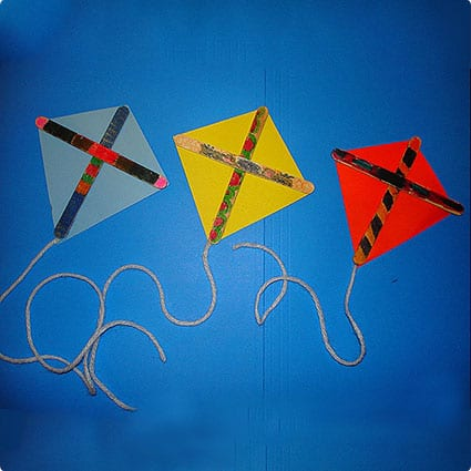 Colorful Non-Flying Kites