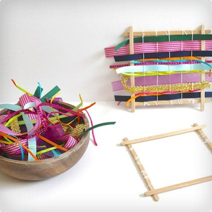 DIY Practice Loom For Kids