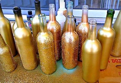 DIY Wine Bottle Decor Upcycle