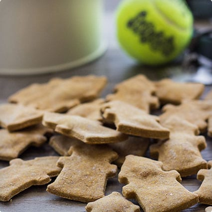 Easy Doggie Treats With Wheat, Pumpkin, and Peanut Butter