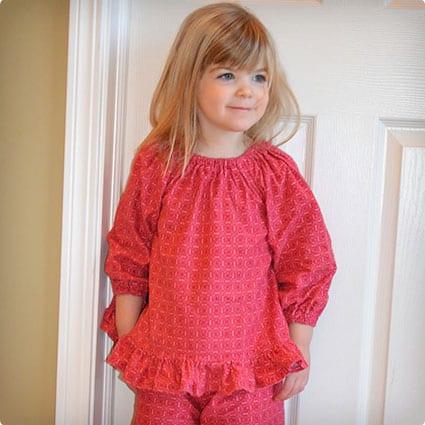 Easy Winter Pajamas