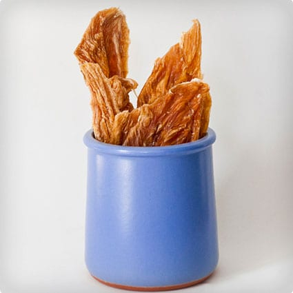 Homemade Chicken Chews For Dogs