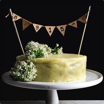 Homemade Doggie Meatloaf Birthday Cake