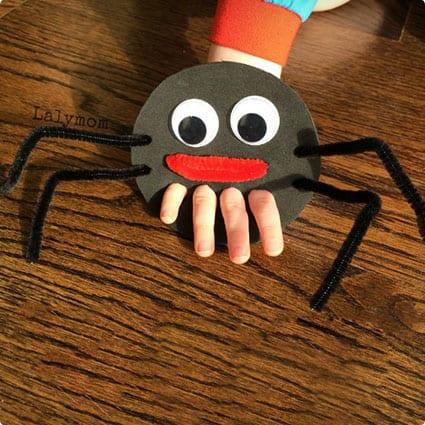 Itsy Bitsy Spider Puppet