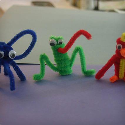 Pipe Cleaner Animal Collection
