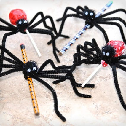 Pipe Cleaner Spider Treats
