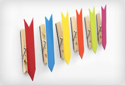 Popsicle Stick Arrow Magnets