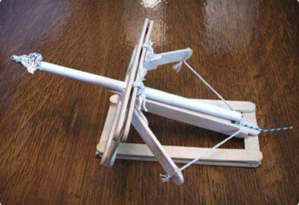 Popsicle Stick Ballista