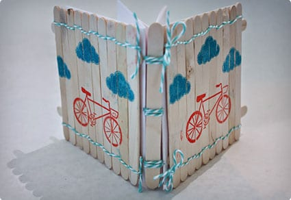 Popsicle Stick Journal