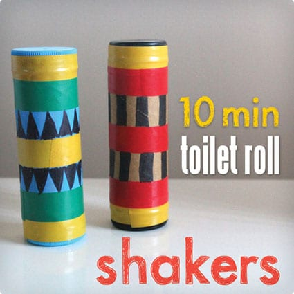 Quick and Easy TP Roll Shakers
