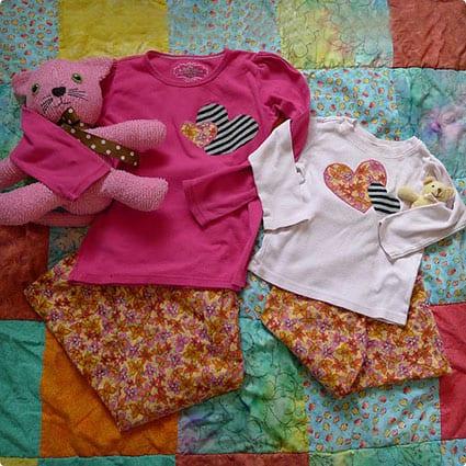 Simple Craft For Matching Pajamas