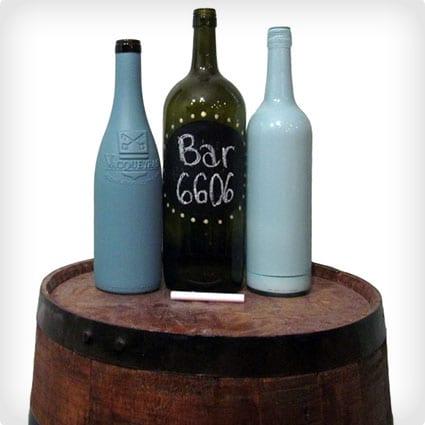 Simple Wine Bottle Decorating Ideas