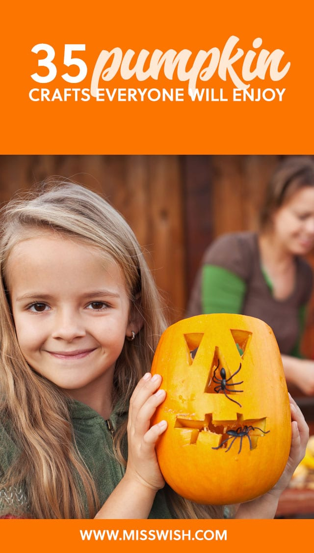 Love these pumpkin crafts! So many fun craft ideas for Halloween :)