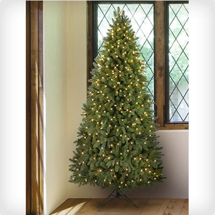 Balsam Hill Park Avenue Corner Artificial Christmas Tree,