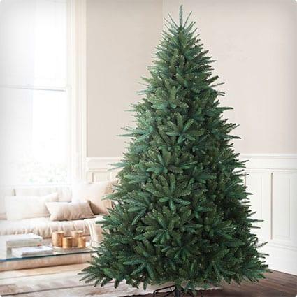 Black Spruce Artificial Christmas Tree, 6.5 Feet, Unlit