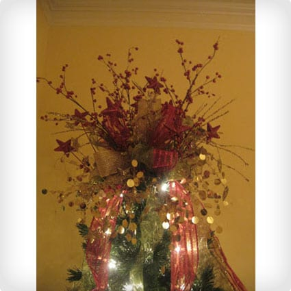 Bow Tree Topper Tutorial