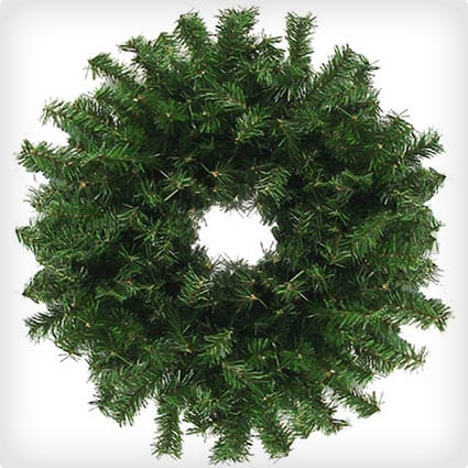 Canadian Pine Artificial Christmas Wreath