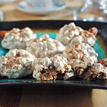 Chocolate Pecan Meringues