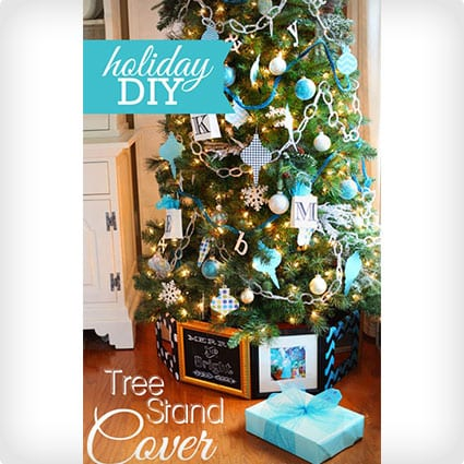 Christmas Tree Stand Cover Using Frames
