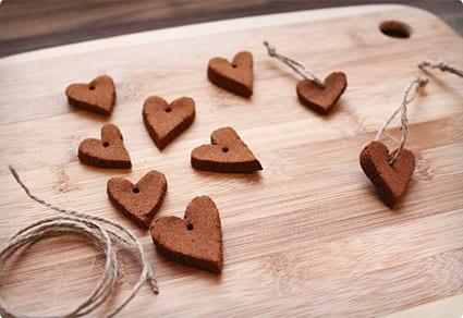 Cinnamon Heart Ornaments