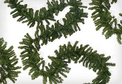 Commercial Length Canadian Pine Artificial Christmas Garland