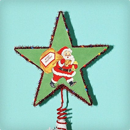 Double Sided Lighted Tree Topper