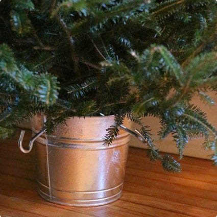 Farmhouse Style Christmas Tree Stand