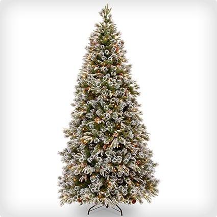 Feel-Real'; Liberty Pine Medium Hinged Tree lit