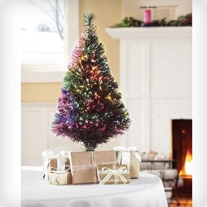 Fiber Optic Color Changing Artificial Tree With LED Lights