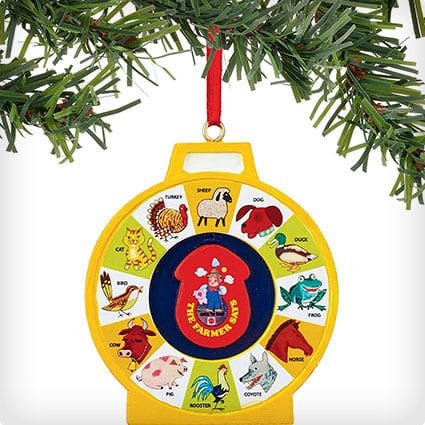 Fisher Price See N Say Ornament