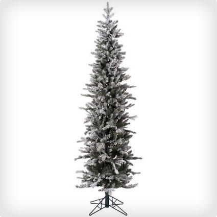 Frosted Glitter Tannenbaum Pine Artificial Christmas Tree