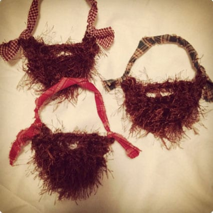 Fuzzy Beard Ornament