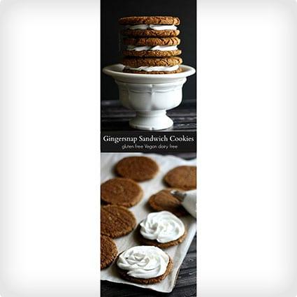 Gingersnap Sandwich Cookies