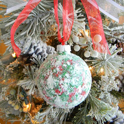 Hand Painted Ornaments, Christmas Bulbs
