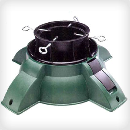 Heavy Duty Green Pivot Christmas Tree Stand