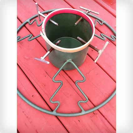 Heavy Duty Metal Round Base Christmas Tree Stand Holder