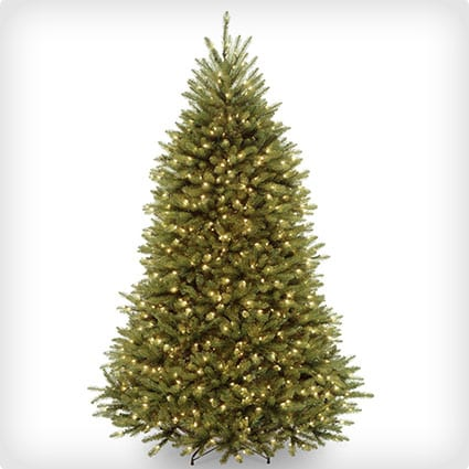 Hinged National Tree Dunhill Fir Tree With 750 Clear Lights