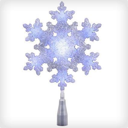 Kurt Adler Light Snowflake Tree Topper