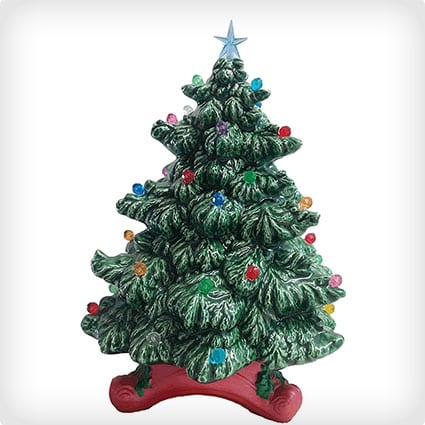 Light up Ceramic Christmas Tree Gifts and Decor