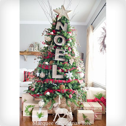 2c70f53029d0 17 Super Creative Ways to Spruce Up Artificial Christmas Trees ...
