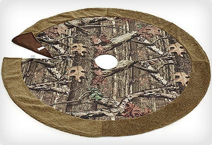 Mossy Oak Camouflage Christmas Tree Skirt