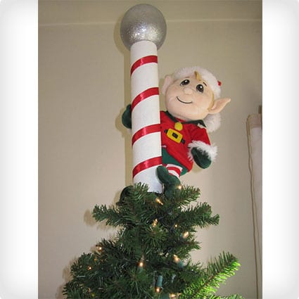 North Pole Elf Christmas Tree Topper